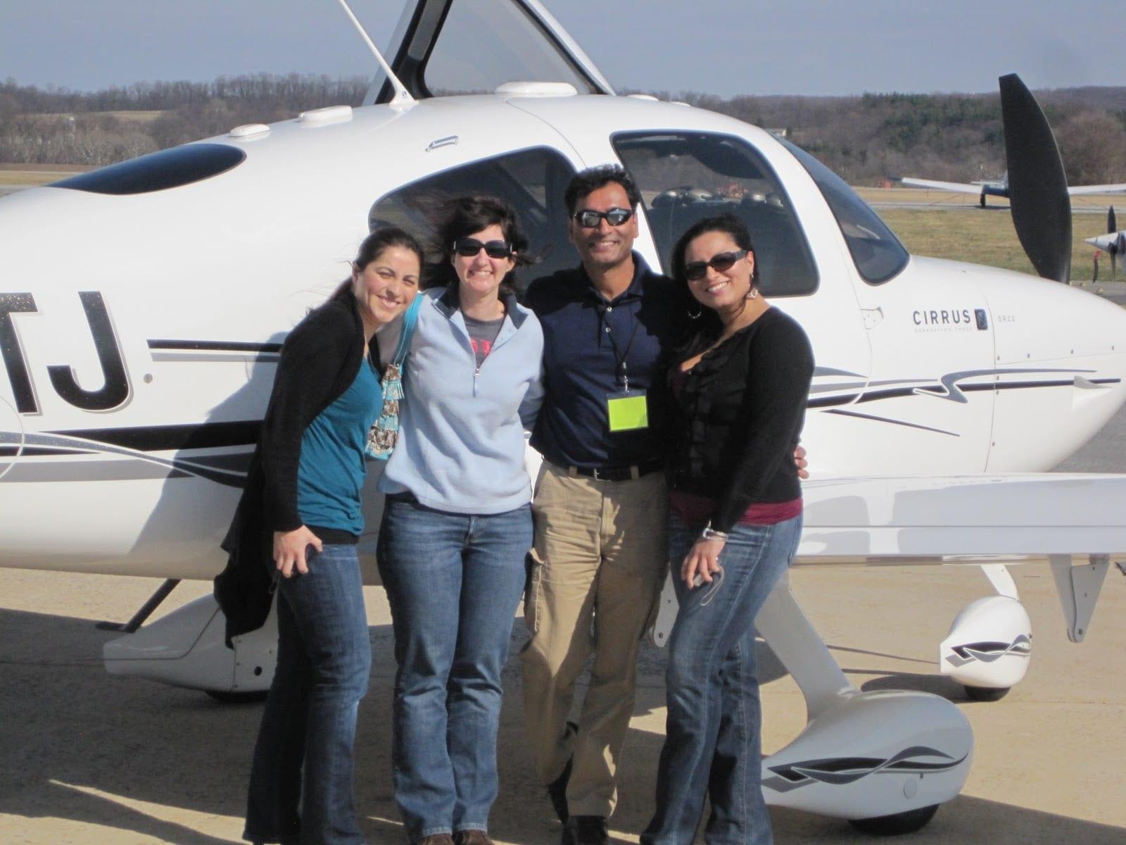 Fly It Forward® flight in Frederick, USA