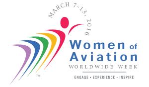 Women Of Aviation Worldwide Week logo