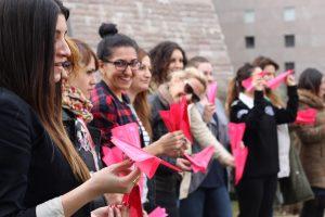 BITES Pink Paper Plane Challenge - Turkey, 2015