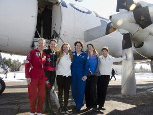 Celebrating Female Aerobatic Pilots - Canada, 2014