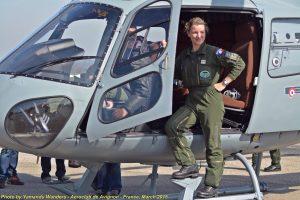 Celebrating Women Of Military Aviation - France, 2015
