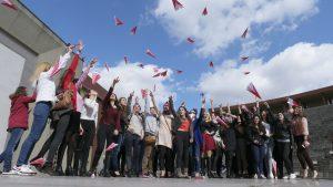 Pink Paper Plane Challenge - Turkey, 2015