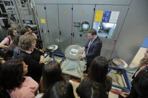 Aerospace factory visit