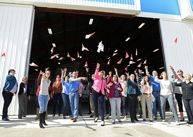 Pink Paper Planes Guinness World Record