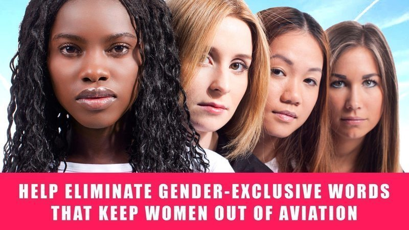 Tell the FAA to Eliminate Gender-Exclusive Words that Keep Women out of Aviation