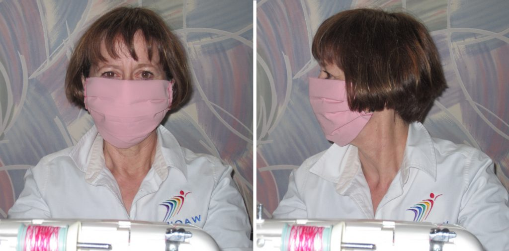 How to make face masks for aviation crews