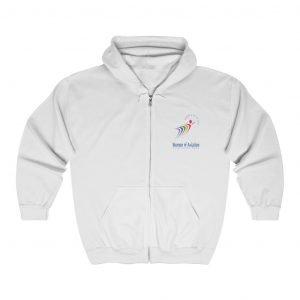 WOAW Logo Zip Hooded Sweatshirt (EN)