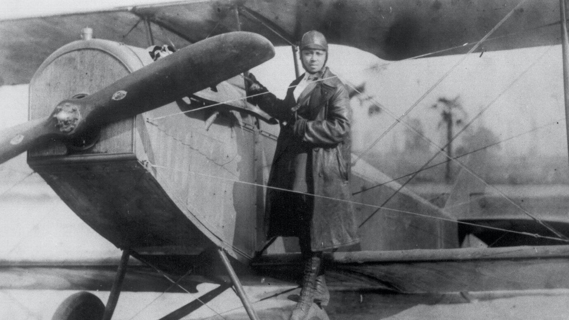 Why Bessie Coleman learn to fly in France